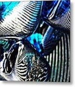 Glass Abstract 157 Metal Print