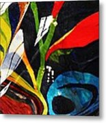 Glass Abstract 297 Metal Print