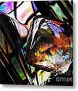 Glass Abstract 314 Metal Print