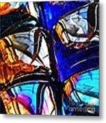 Glass Abstract 4 Metal Print