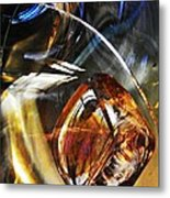 Glass Abstract 476 Metal Print