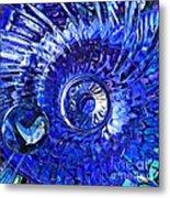 Glass Abstract 479 Metal Print