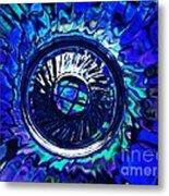 Glass Abstract 481 Metal Print
