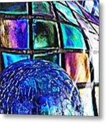 Glass Abstract 490 Metal Print