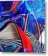 Glass Abstract 503 Metal Print