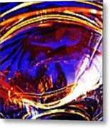 Glass Abstract 554 Metal Print
