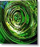 Glass Abstract 575 Metal Print