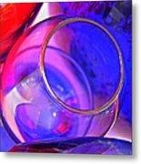Glass Abstract 594 Metal Print