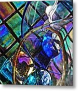 Glass Abstract 690 Metal Print