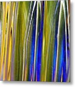 Glass Abstract 747 Metal Print