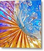 Glass Abstract 767 Metal Print