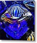 Glass Abstract 95 Metal Print