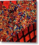 Glass And Beads Metal Print