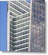 Glass Architecture Metal Print