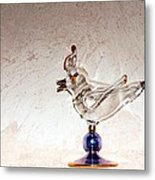 Glass Bird Metal Print