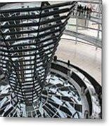 Glass Cupola - Berlin Metal Print