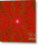 Glass Fantasia Catus 1 No 9 H Metal Print
