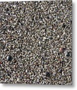 Glass In The Gravel Metal Print