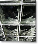 Glass Wall Metal Print
