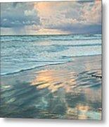 Glassy Beach Metal Print