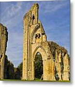 Glastonbury Abbey Metal Print