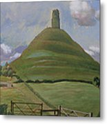 Glastonbury Tor Metal Print