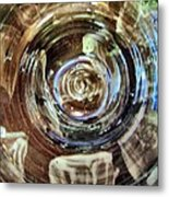 Glazed Clay Photograph Metal Print by Martha Nelson