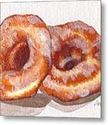 Glazed Donuts Metal Print by Debi Starr