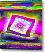Glbtq Free And Unframed   Hi-saturation Version Metal Print