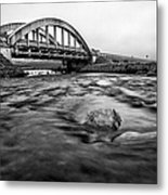 Glen Coe Bridge Metal Print by John Farnan