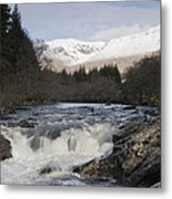 Glen Orchy Scotland Metal Print