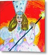 Glenda The Good Witch Of Oz Metal Print