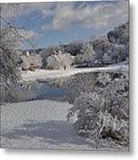 Glenmorgan After A Snow Metal Print
