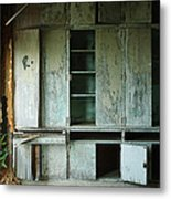 Glenn Dale Cabinets Metal Print