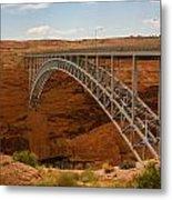 Glenn Dam Bridge Metal Print