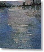 Glimmering Water Metal Print