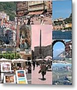 Glimpses Of Italy Metal Print