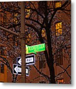 Glistening Branches On The Plaza Metal Print