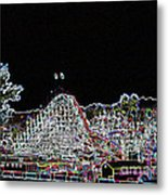 glo 248- Rollercoaster Metal Print