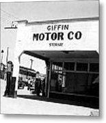 Globe Arizona Metal Print