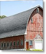 Glorious Barn Metal Print