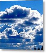 Glorious Clouds II Metal Print