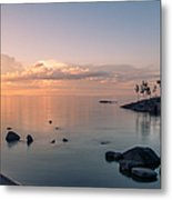 Glorious End Of The Day. Valaam. Northern Russia Metal Print