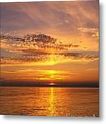 Glorious Sunset Metal Print