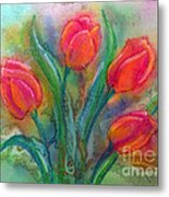 Glorious Tulips Metal Print