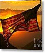 Glory At Sunset Metal Print