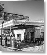 Glory Days Of Route 66 Metal Print