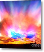 Glory Sunset Metal Print