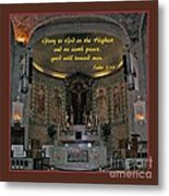Glory To God In The Highest Metal Print
