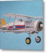 Gloster Gladiator Metal Print